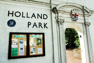 Londra holland park ingresso