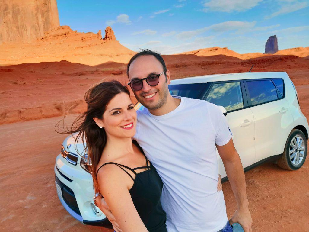 usa on the road arizona deserto