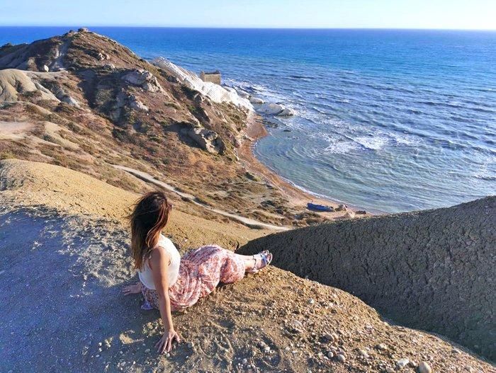 punta bianca sicilia panorama