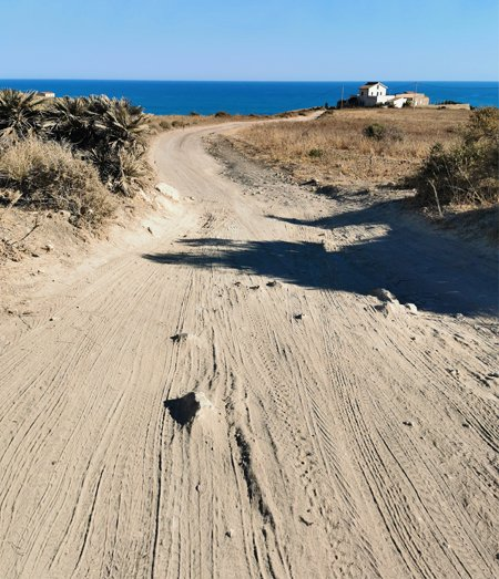 punta bianca sicilia come arrivare strada