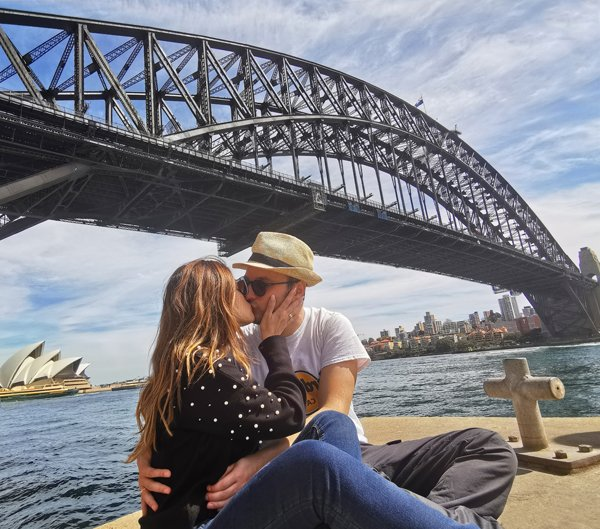sydney harbour bridge, ponte di sydney, sydney, australia simbolo