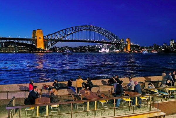 sydney by night, sydney notturno, sydney, sydney skyline, sydney porto, sydney harbour bridge