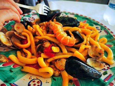 scialatielli ai frutti di mare, amalfi, migliori ristoranti amalfi, cosa mangiare ad amalfi
